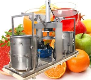 Hydraulic Type Fruit Juice Pressing Making Machine