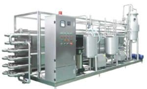 Automatic Plate Type Fruit Juice Pasteurizer Machine